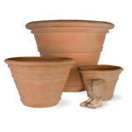 Terracotta Finish Large Pot